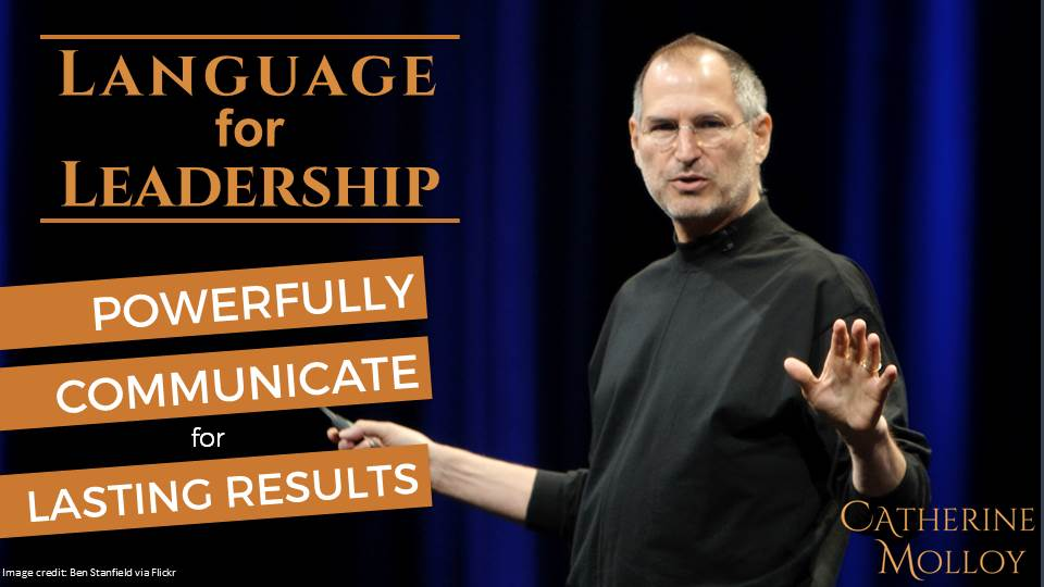 Language for leadership