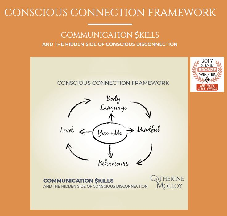 Being conscious in your communication style and the way you connect is important.