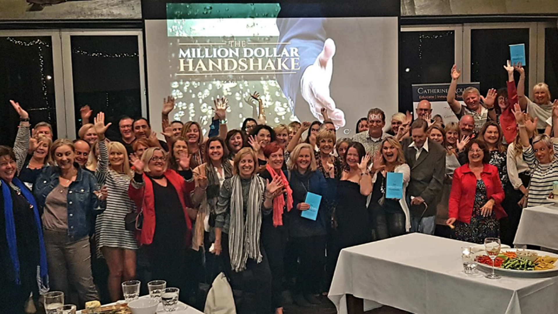 The Million Dollar Handshake Book Launch