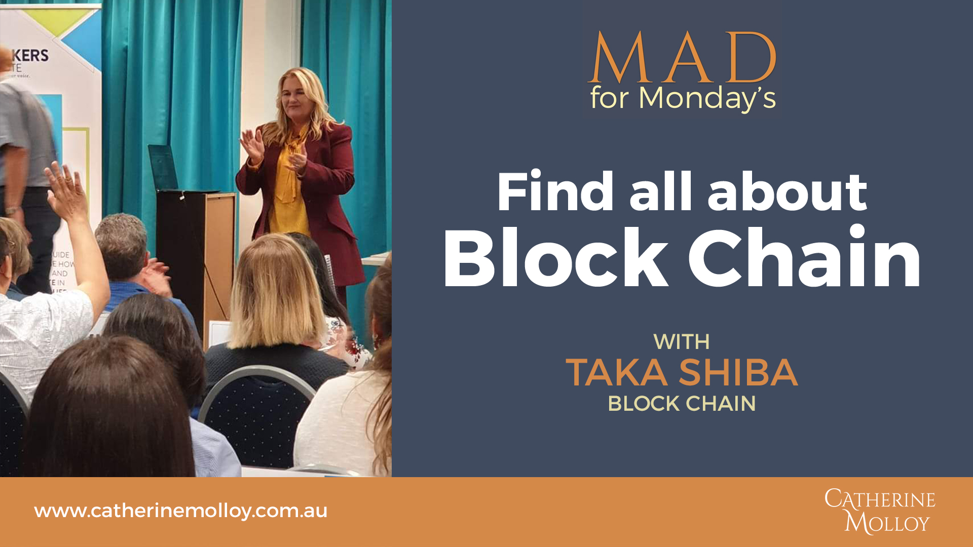 MAD for Monday's – Find all about Block Chain