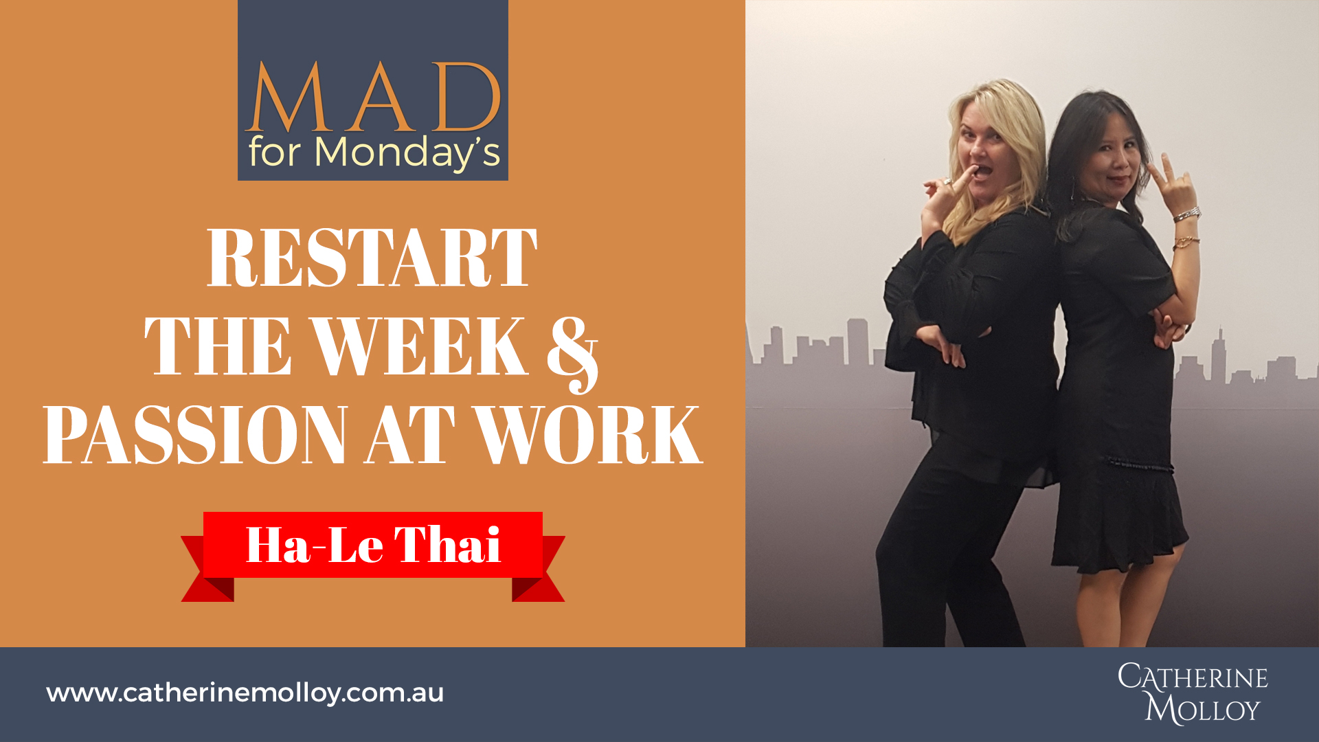 MAD for Monday's – Restart the week and passion at work