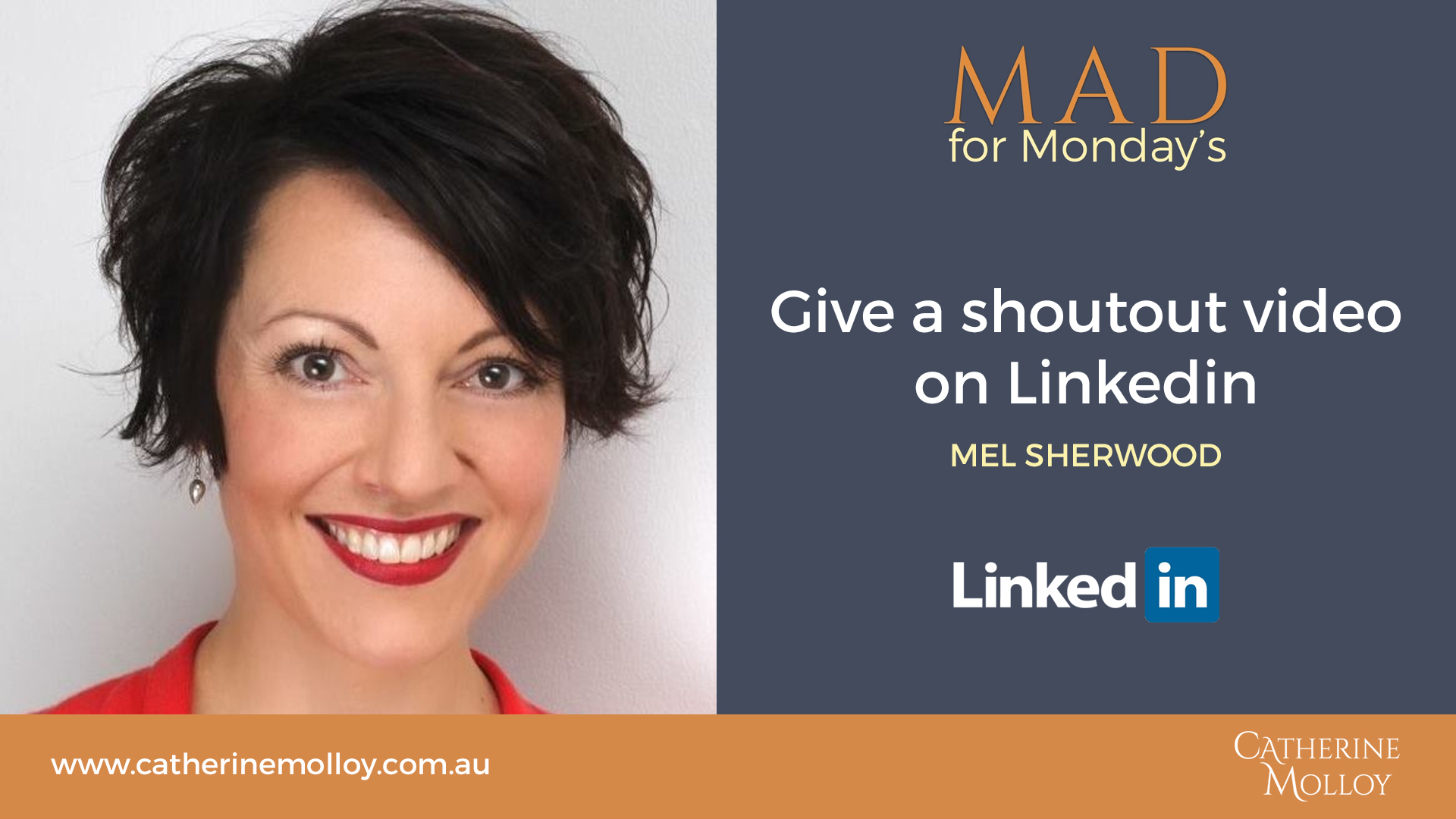 MAD for Monday's – Give a shoutout video on Linkedin