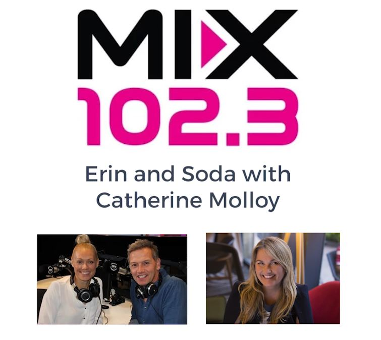 Mix 102.3 Recorded Live Radio Interview with Catherine Molloy