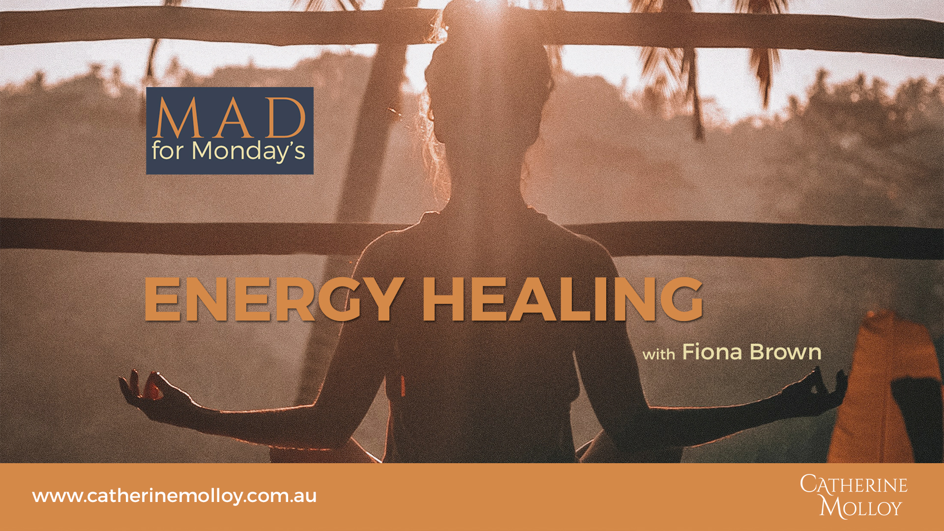MAD for Monday's – Energy Healing