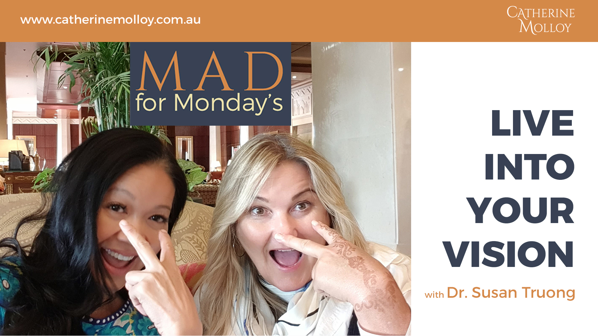 MAD for Monday's – Live Into Your Vision