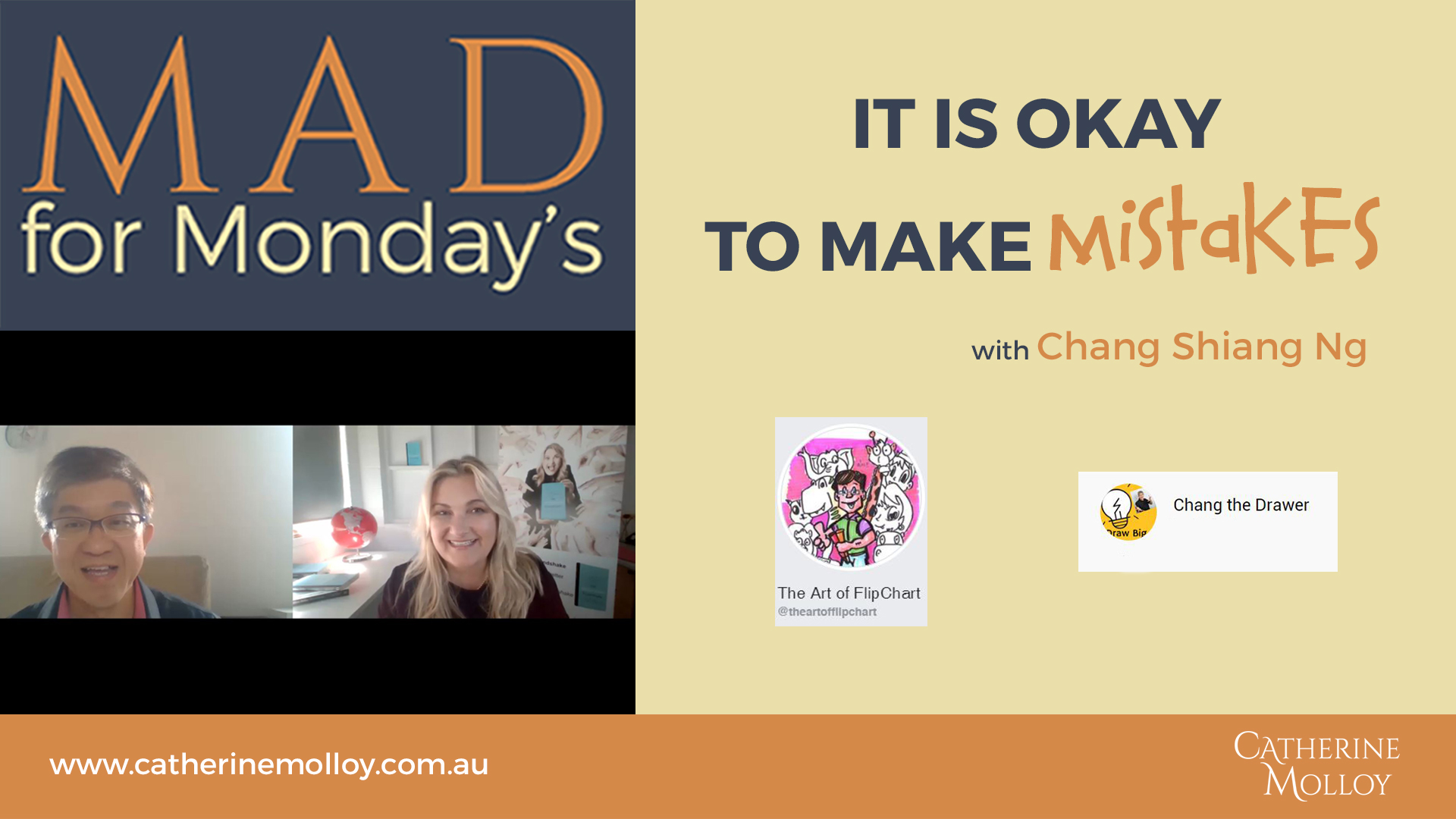 MAD for Monday's – It is Okay to Make Mistakes