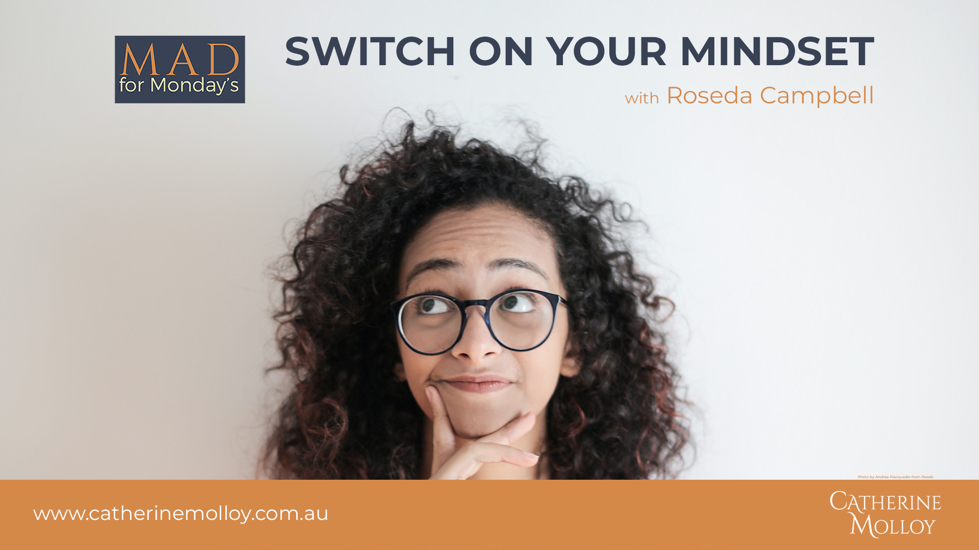 MAD for Monday's – Switch on your Mindset