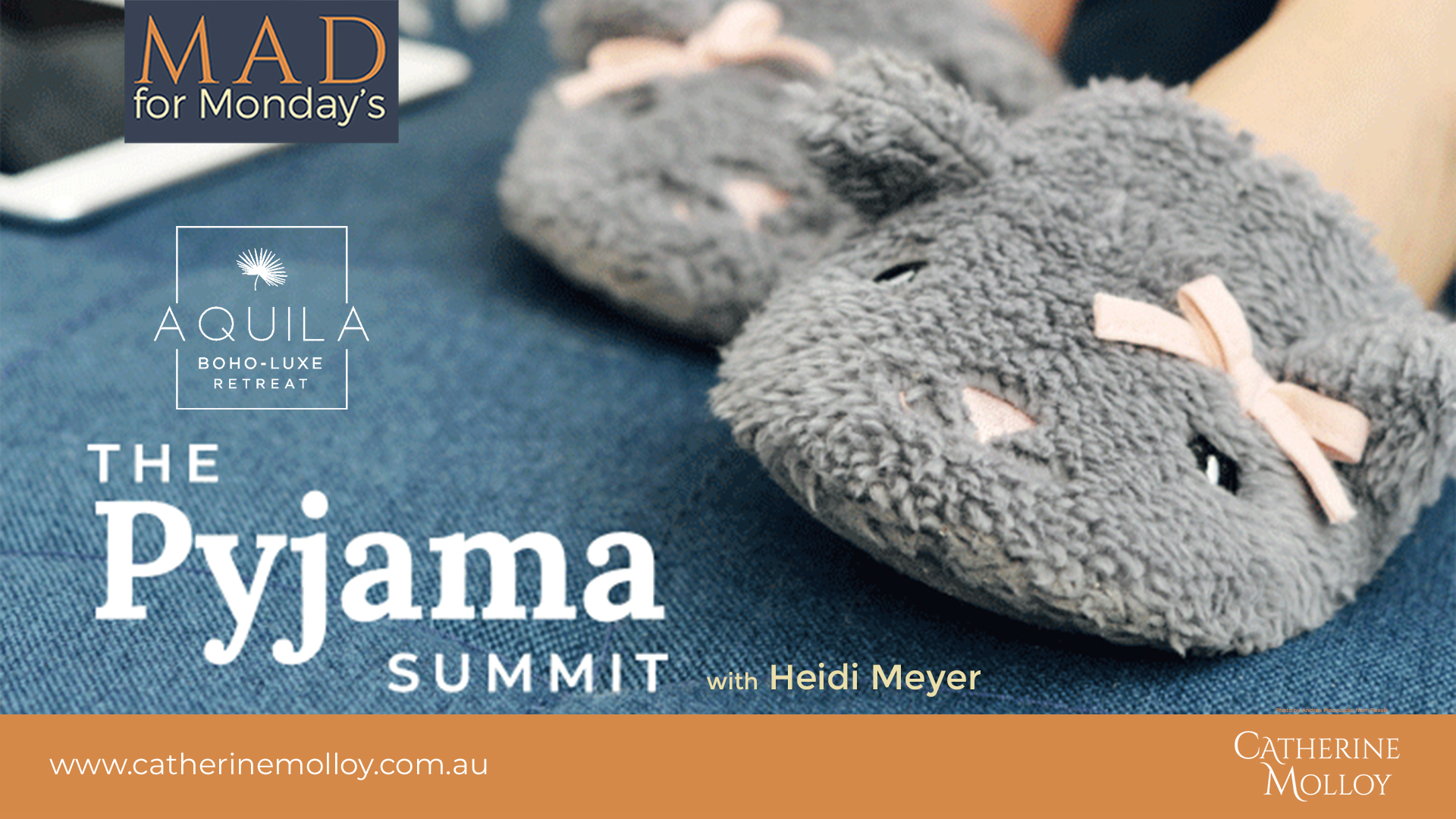 MAD for Monday's – The Pyjama Summit