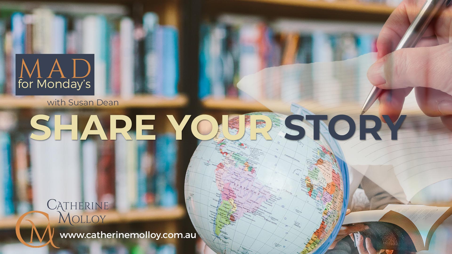MAD for Monday's – Share Your Story